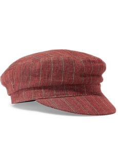 Isabel Marant Evie Striped Linen Cap