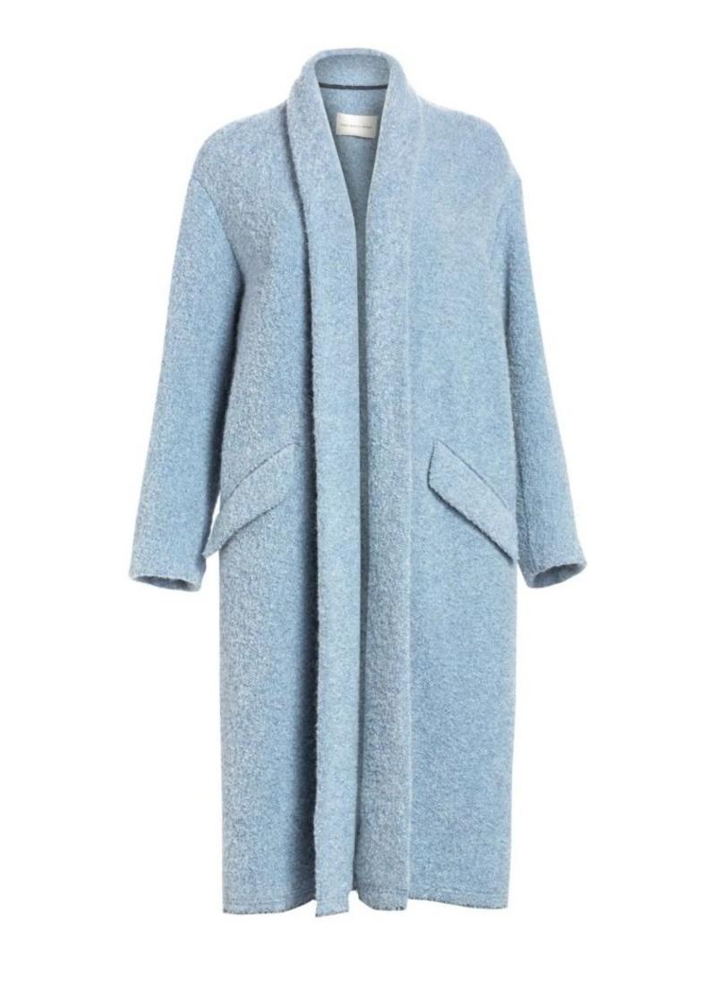 Isabel Marant Faby Oversized Open Coat