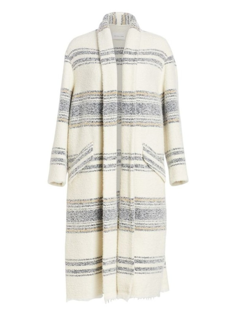 Isabel Marant Faby Striped Open Coat