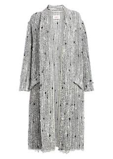 Isabel Marant Faby Textured Towel Coat