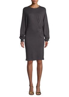 Isabel Marant Fanley Long-Sleeve Sweater Dress