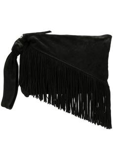 Isabel Marant Farwo fringed clutch bag
