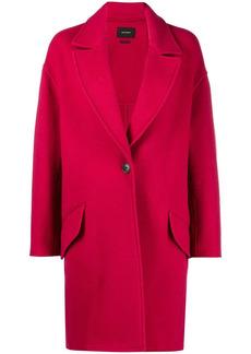 Isabel Marant Fego single-breasted oversized coat