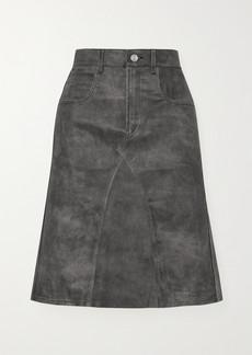 Isabel Marant Fiali Leather Skirt