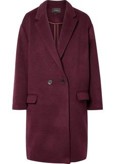 Isabel Marant Filipo Oversized Double-breasted Wool-blend Felt Coat