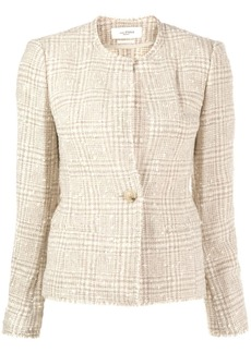 Isabel Marant fitted tweed blazer