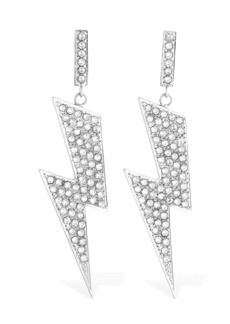 Isabel Marant Flash Crystal Pendant Earrings