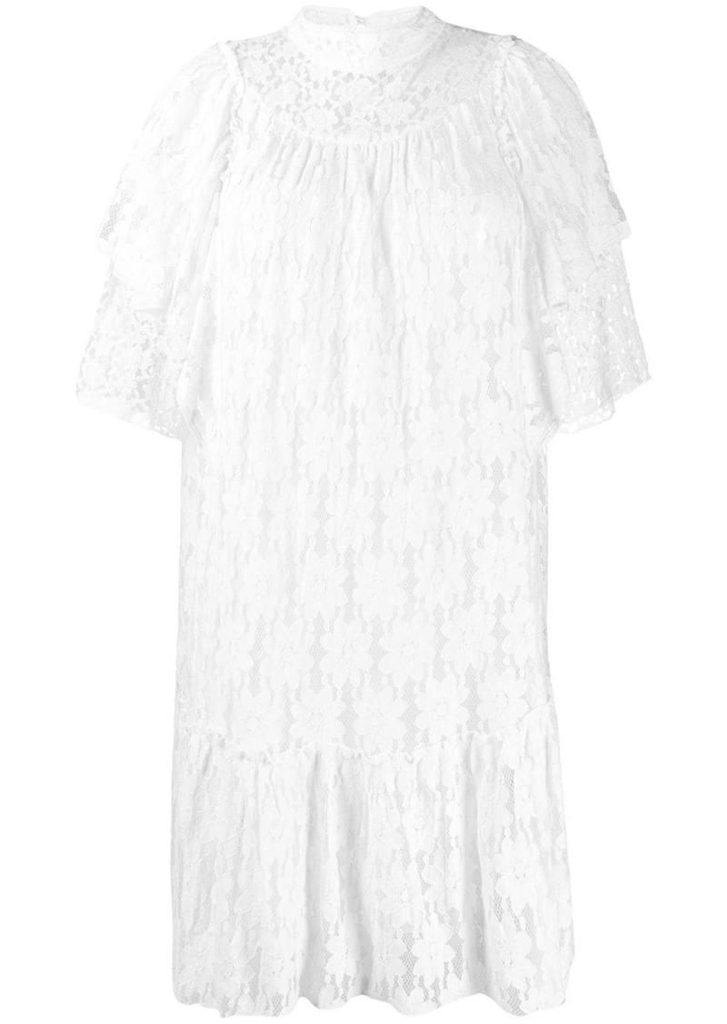 Isabel Marant floral lace dress
