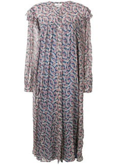 Isabel Marant floral maxi dress