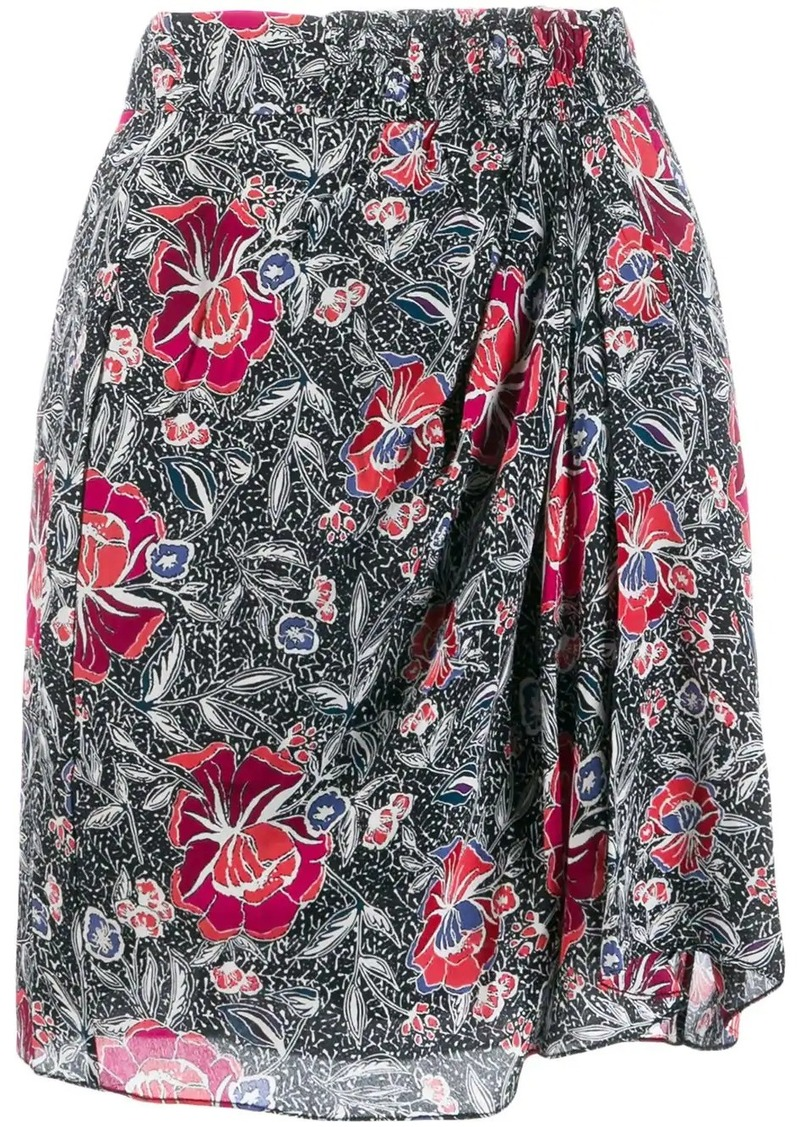 Isabel Marant floral mini skirt