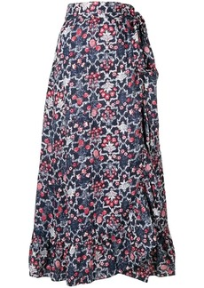 Isabel Marant floral print full skirt