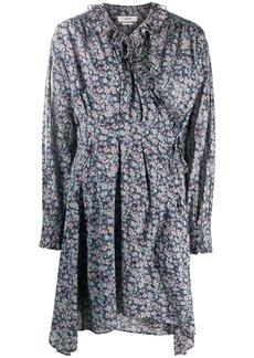 Isabel Marant floral print wrap dress