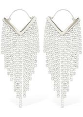Isabel Marant Freak Out Crystal Cascade Earrings