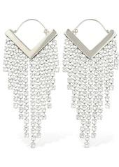 Isabel Marant Freak Out Crystal Earrings