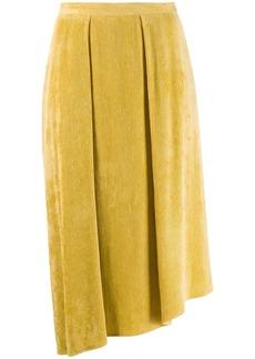 Isabel Marant Freja flowing velvet skirt