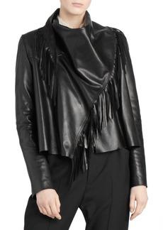 Isabel Marant Fringed Leather Jacket