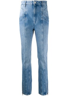 Isabel Marant front stitched jeans