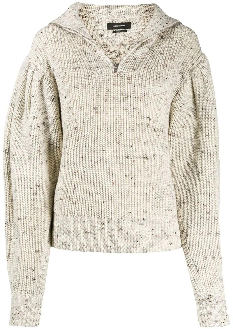 Isabel Marant front zip sweater