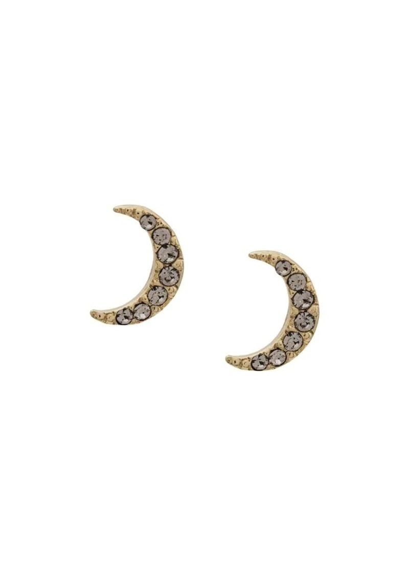 Isabel Marant Full Moon crystal earrings