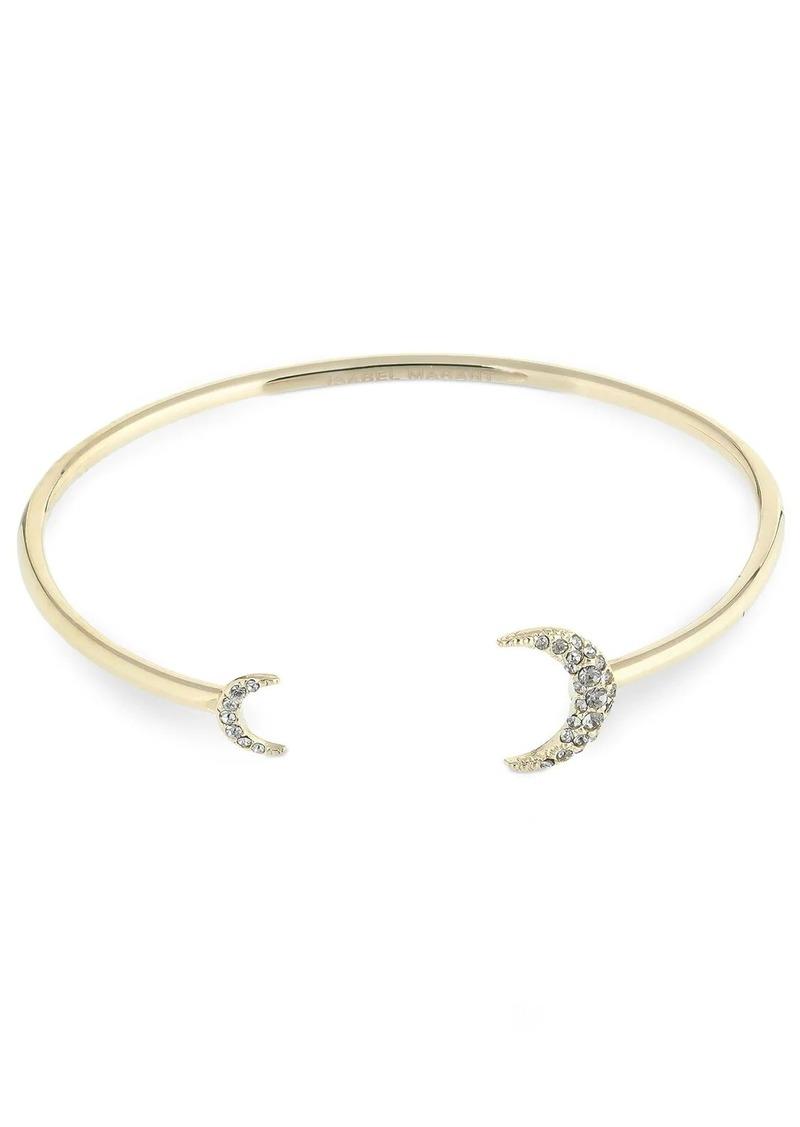 Isabel Marant Full Moon Cuff Crystal Bracelet