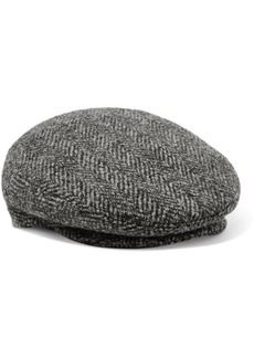 Isabel Marant Gabor Herringbone Wool-tweed Cap