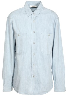 Isabel Marant Galisea Cotton Chambray Shirt