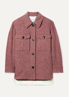 Isabel Marant Garvey Herringbone Wool-tweed Jacket