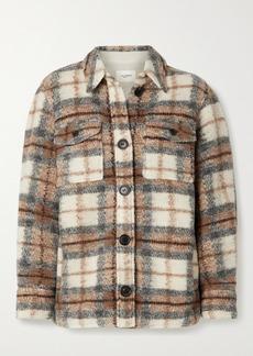 Isabel Marant Gastoni Checked Wool-blend Jacket
