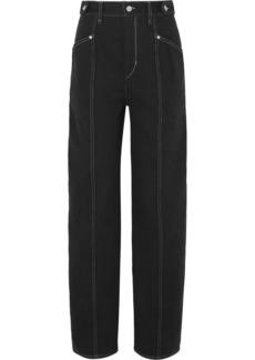 Isabel Marant Genie Denim Straight-leg Pants