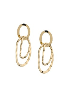 Isabel Marant geometric drop earrings
