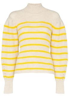 Isabel Marant Georgia striped knit jumper