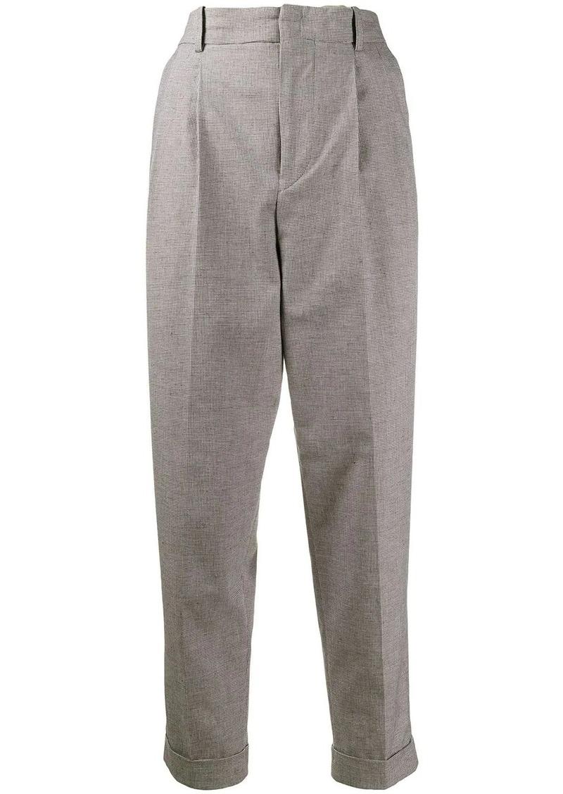 Isabel Marant gingham print trousers