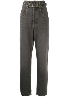 Isabel Marant Gloria high waisted tapered jeans