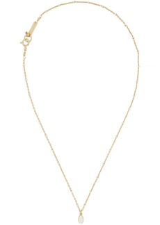 Isabel Marant Gold & Ecru Medaille Necklace