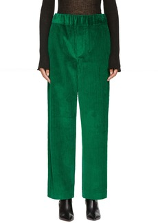 Isabel Marant Green Meloy Trousers