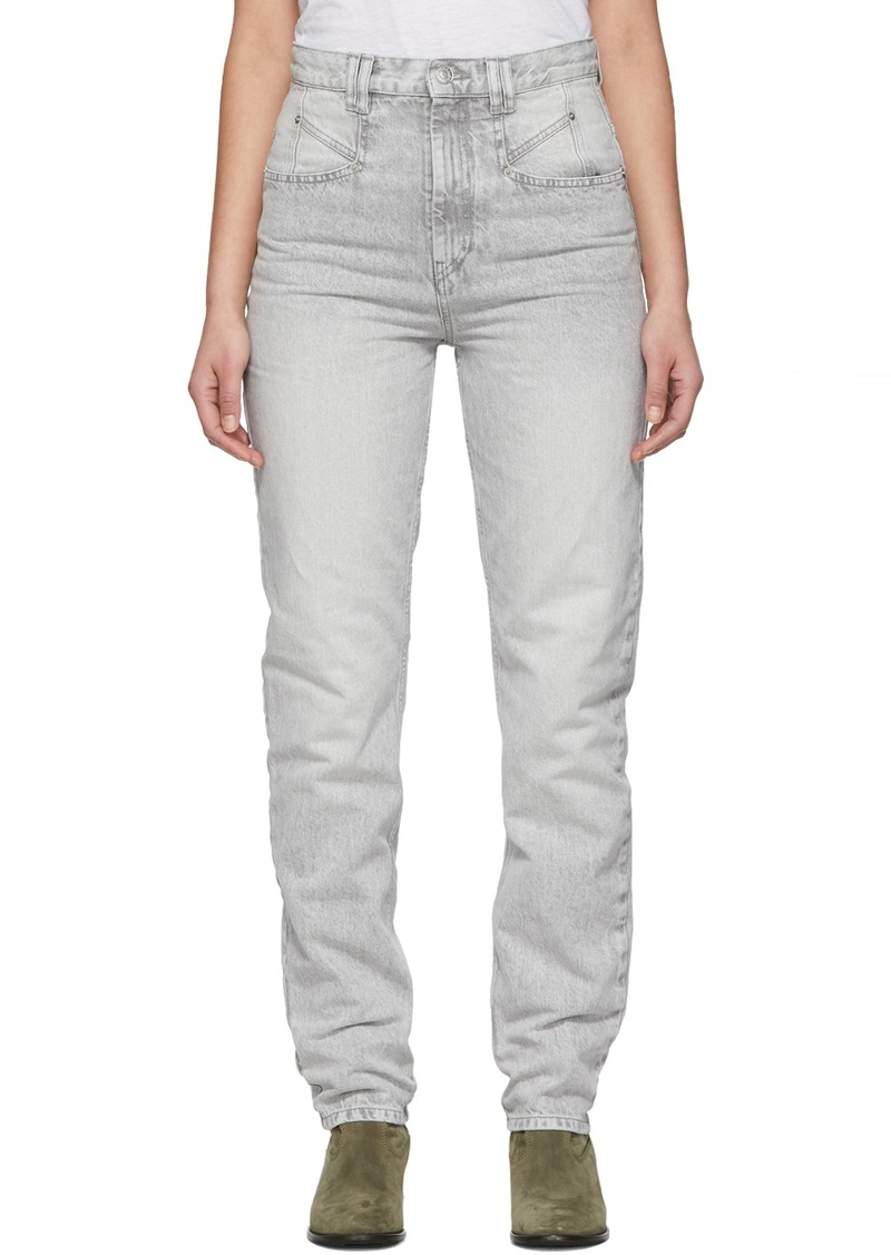 Isabel Marant Grey Dominic Jeans