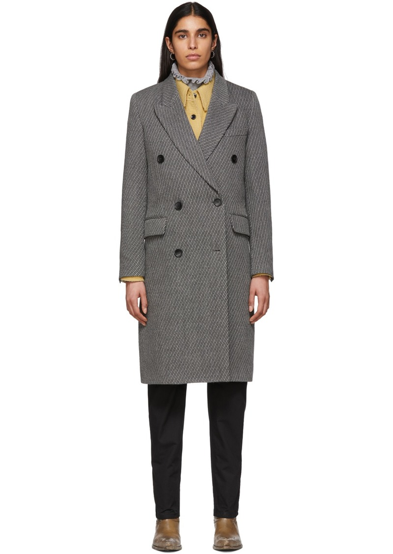 Isabel Marant Grey Harry Coat