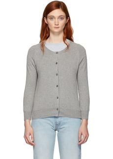 Isabel Marant Grey Napoli Regular Knit Cardigan