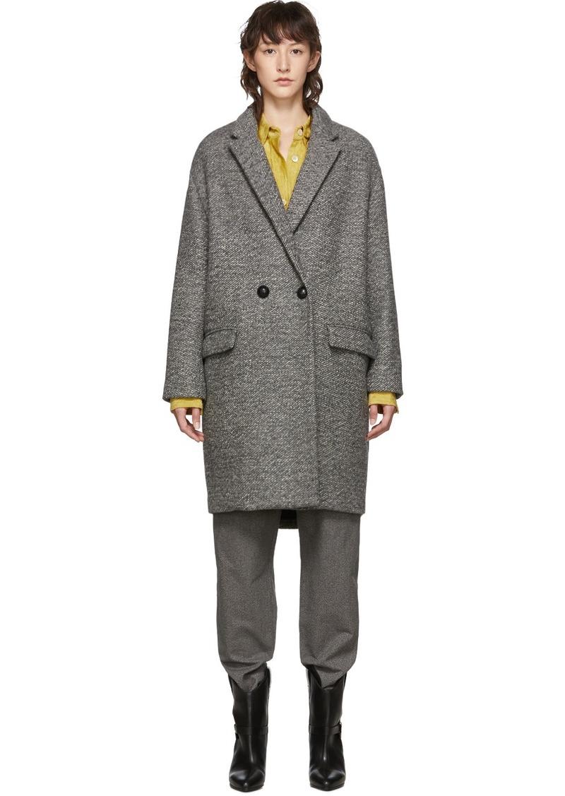 Isabel Marant Grey Wool Filipo Coat