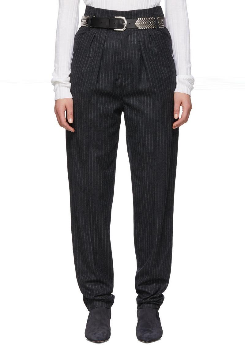 Isabel Marant Grey Wool Magali Trousers