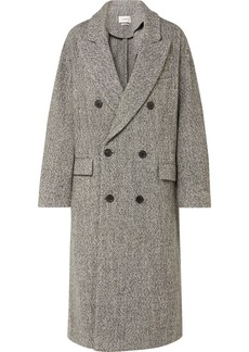 Isabel Marant Habra Double-breasted Bouclé Coat
