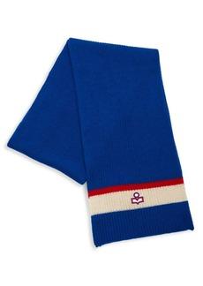 Isabel Marant Helona Ski Wool Knit Scarf