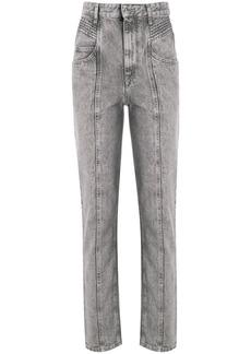 Isabel Marant Henoya high-rise slim-fit jeans