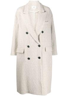 Isabel Marant herringbone double-breasted coat