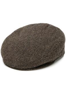 Isabel Marant herringbone textured hat