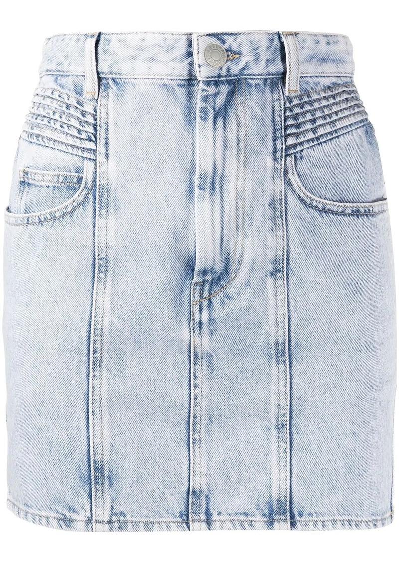 Isabel Marant high-rise denim skirt