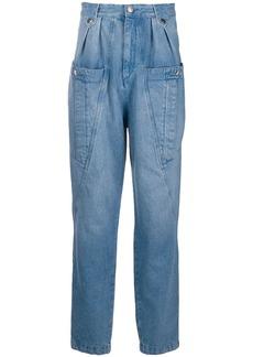 Isabel Marant high rise oversize pocket jeans