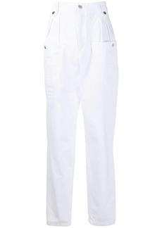 Isabel Marant high rise oversized pocket jeans