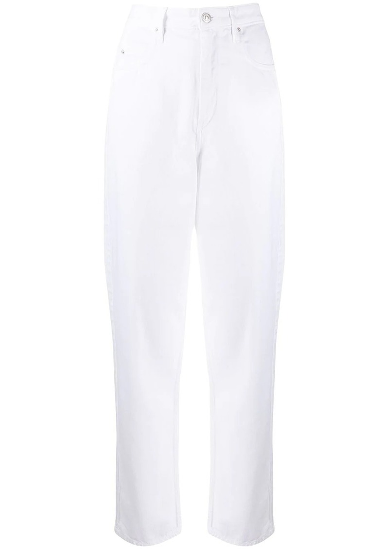 Isabel Marant high rise straight jeans