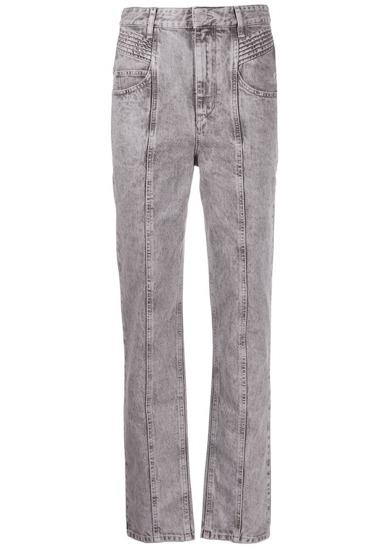 Isabel Marant high-rise straight jeans